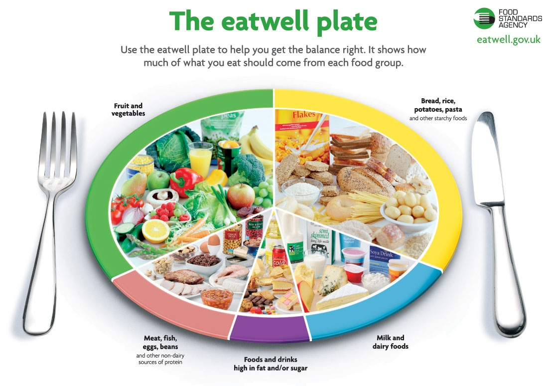 The Eatwell Plate - Express Corporate - Promotional ...